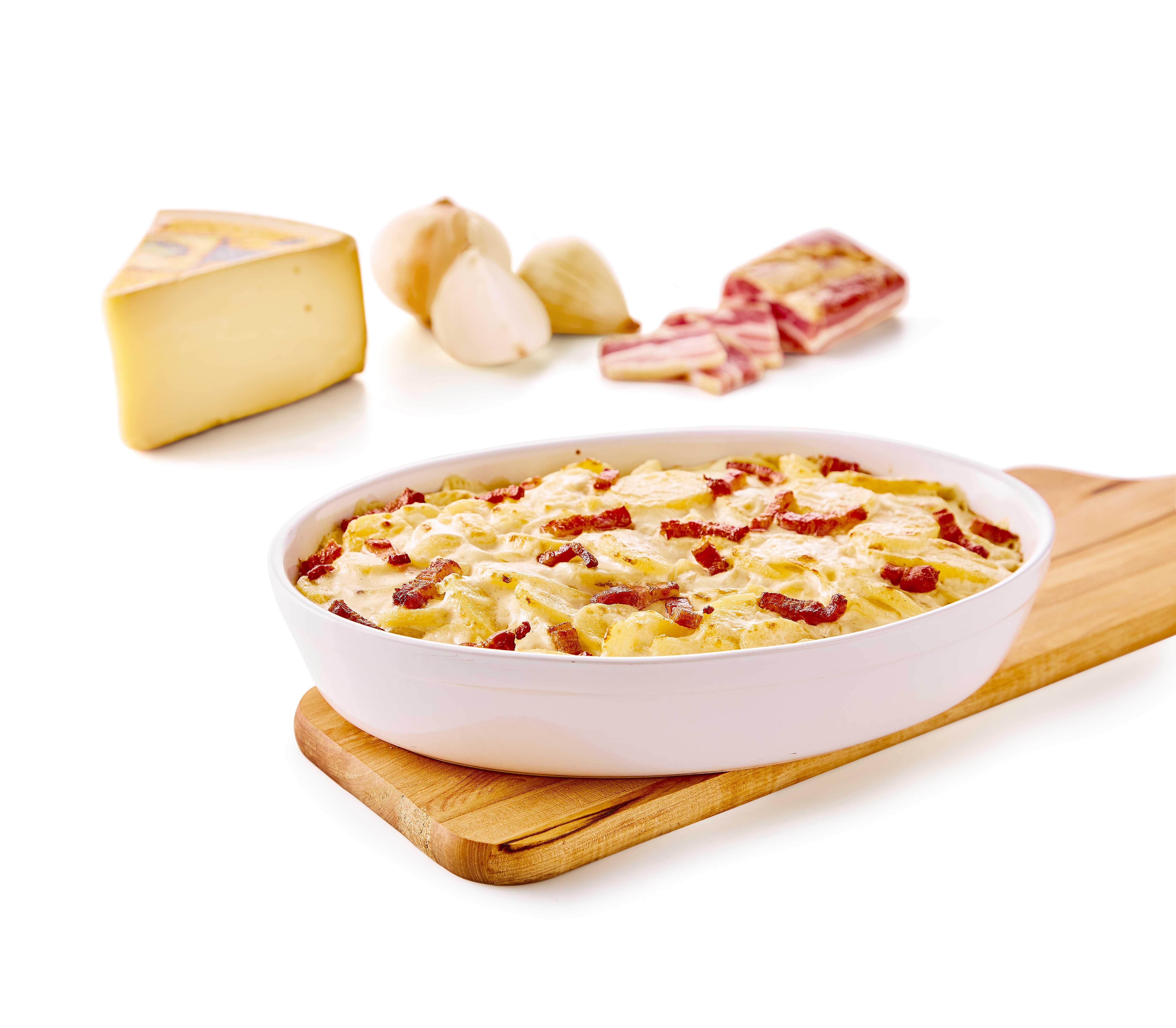 Flødekartofler  Raclette