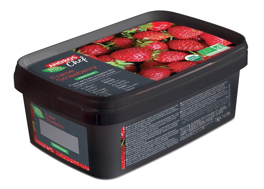 ØKO jordbær puré 1 kg