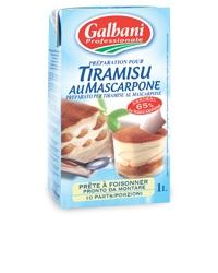 Galbani Tiramisu au Mascarpone 1 liter