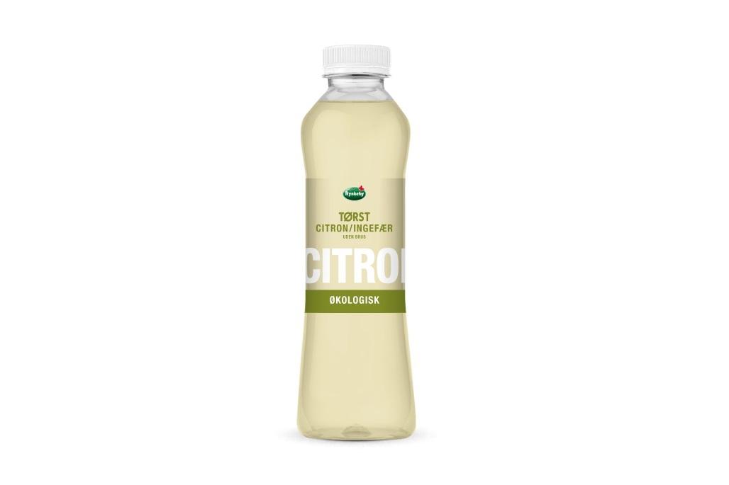 Rynkeby TØRST - Økologisk Citron/Ingefærdrik