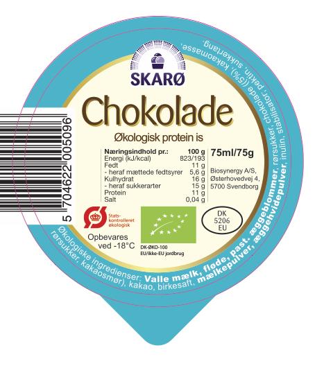Økologiske Chokolade protein is
