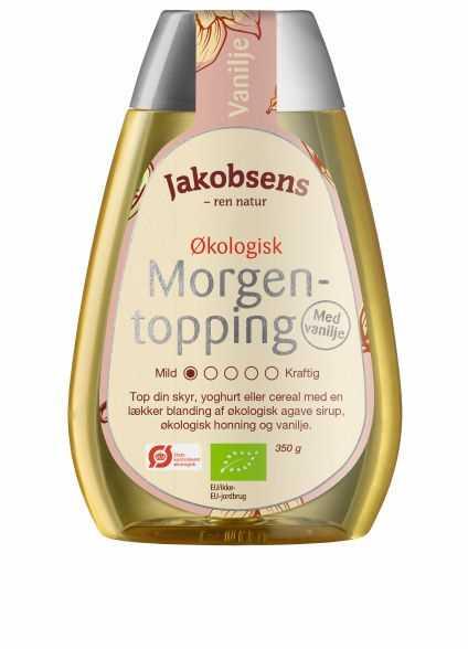 Jakobsens 350 g Økologisk Morgentopping