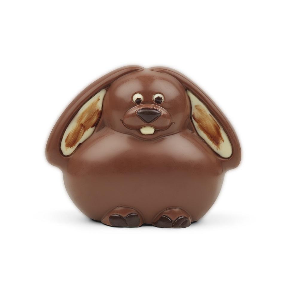 Påskehare i flødechokolade