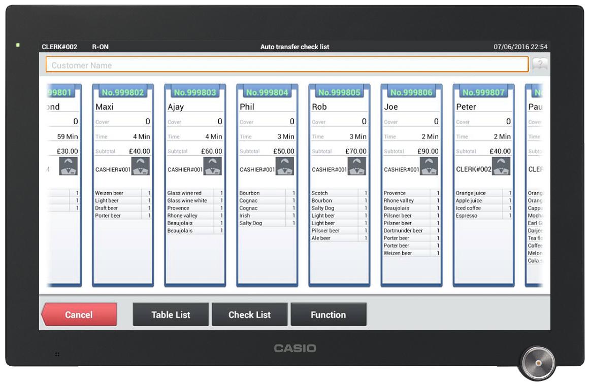 Casio Premium kassesystem