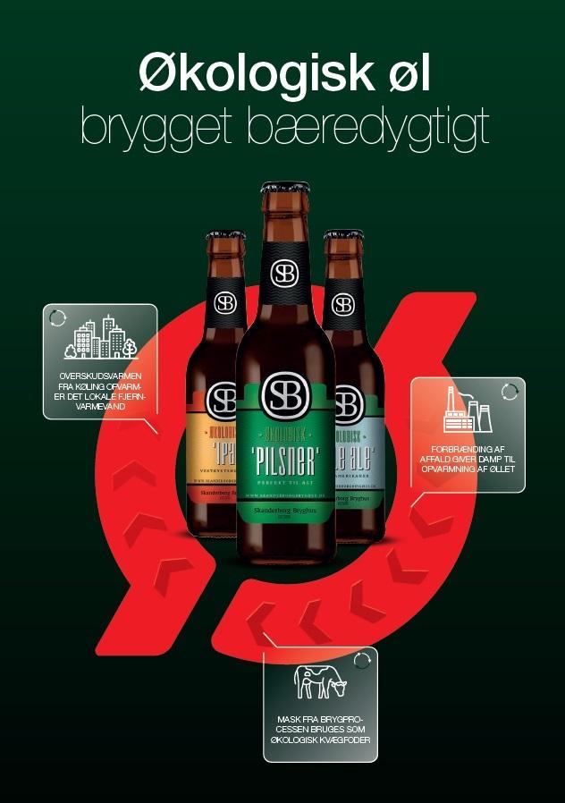 Økologisk øl - Brygget bæredygtigt